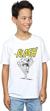DC Comics Niños The Flash Mono Action Pose Camiseta