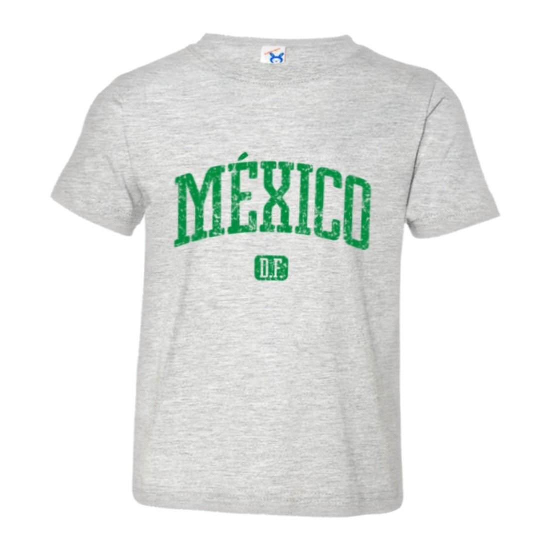 Toddler Mexico DF Vintage Distressed Original Word HQ Tee Shirt