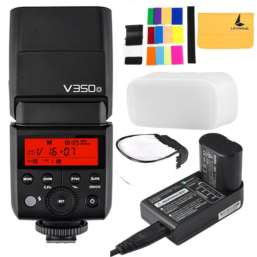 Godox v350o TTL 2.4 Gカメラのフラッシュ内蔵充電式7.2 V/2000 mAh Li - Ionバッテリーfor Olympus/Panasonicカメラ   B07C4PRNXG