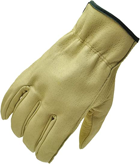 Unlined Pigskin Driver Leather Work Gloves Sold by Pair