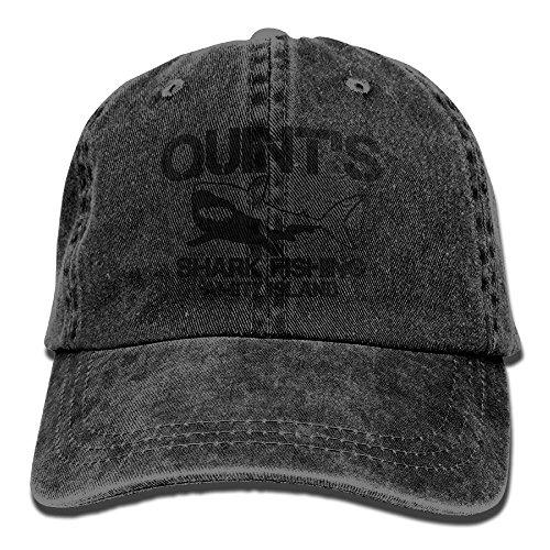 (Quint's Shark Fishing 1 Denim Hat Adjustable Men's Fitted Baseball Caps)