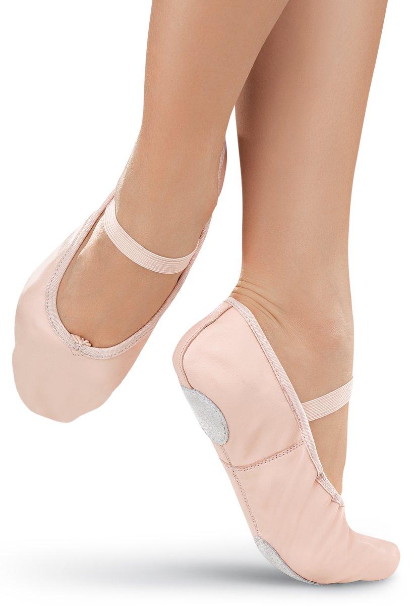 Balera Ballet Shoe Leather Split Sole Ballet Pink 3AM