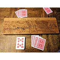 Hobbit - There and Back Again Cribbage Board