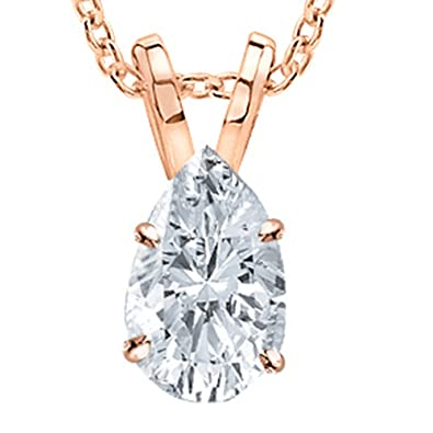 uncategorised pendant teardrop pear gold diamond white finnies image the jewellers