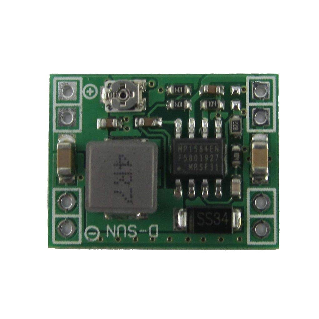 4Pcs MP1584 DC-DC / 6,5-28 Power Module Kleine DC-DC 3A Netz Step-Down Adjustable Modul Buck Converter 24V 9V 5V 3V bis 12V Kakiyi
