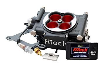 FiTech Fuel Injection Univ Go EFI 4 Power Adder Fuel Injection Kit P