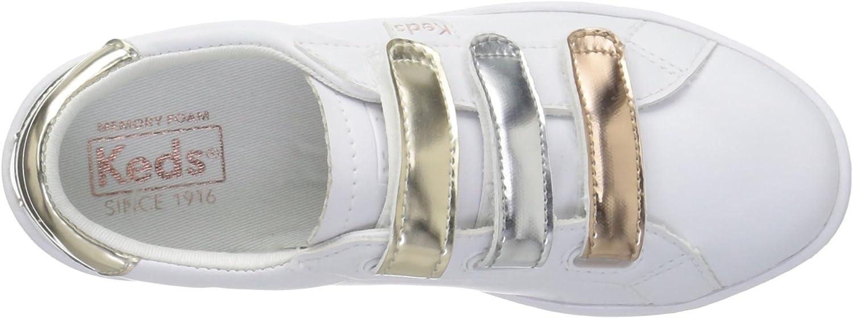 Keds Girls' Ace 3V Sneaker, Triple