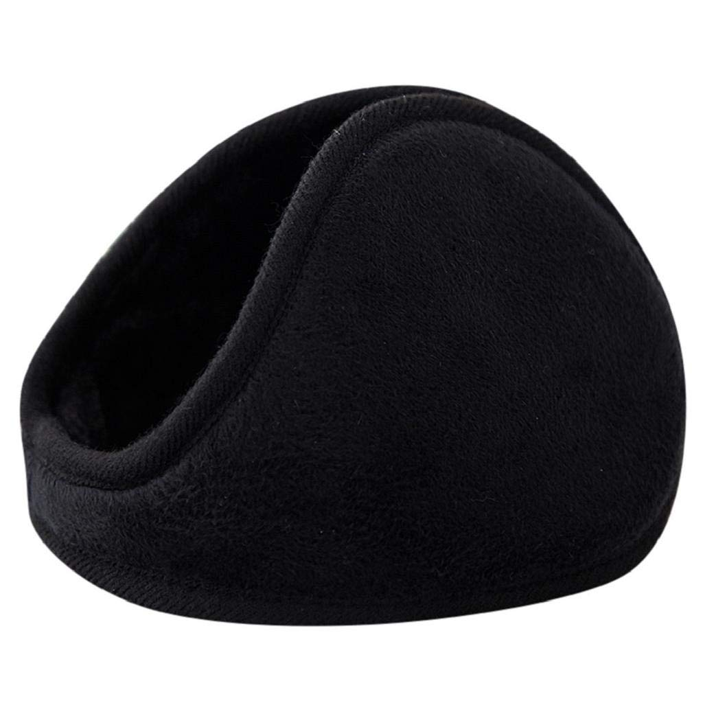 Fleece Winter Earmuffs for Women and Men Foldable Ear Warmer Soft Ear Cover