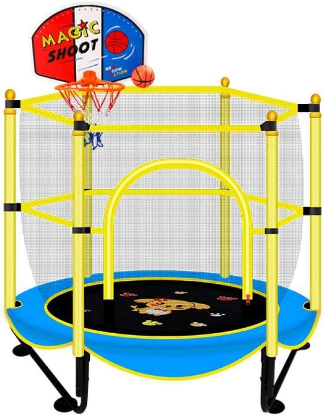 per esterni Trampolino per bambini 300 kg Berkalash con rete di sicurezza