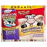 Horizon Organic DHA Omega-3 Vanilla Lowfat Milk, 8 fl oz, 6 count