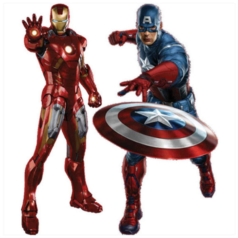 The Avengers movie tatuajes de pared del súper héroe Iron Man ...