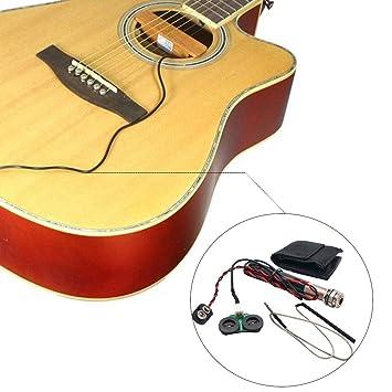 PeHtion Pen Tube Pickup Pastillas para Guitarra acústica Ballad ...