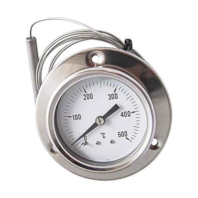 Conpush Oven Grill Thermometer Pyrometer 0/to 500//°C 160/CM Long Flexible Garden BBQ Probe Flexible