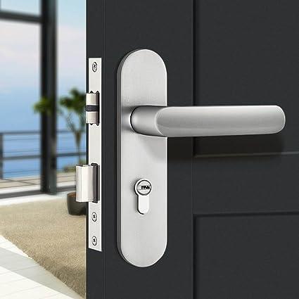 Amazon com: TDJDYQ Handle Lock Room Door Lock Indoor Bedroom