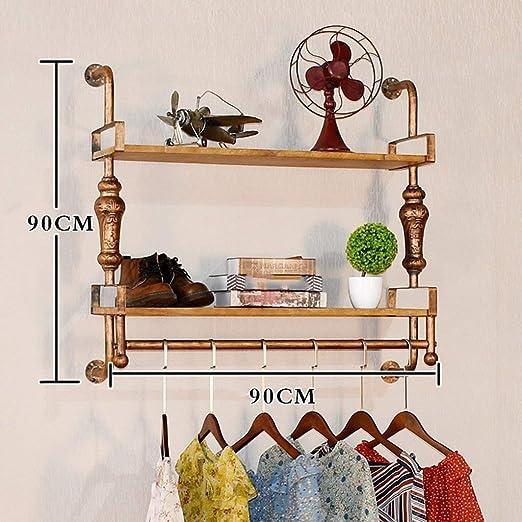 Amazon.com: PLLP - Perchas de madera para el hogar ...