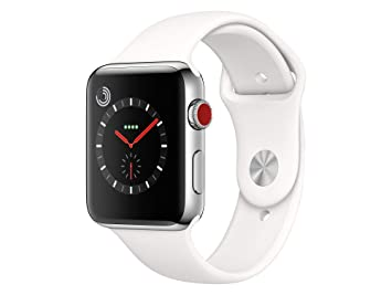 Apple Watch Series 3 Reloj Inteligente Acero Inoxidable OLED Móvil GPS (satélite): Amazon.es: Electrónica