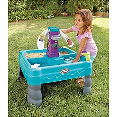 Little Tikes Sandy Lagoon Sand & Water Table –  Exclusive: Toys & Games