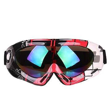 Road&Cool Gafas De Esquí Sol Máscara Niños Adultos Snowboard ...