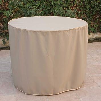 Schutzhulle Fur Tisch Rund 100 Cm X 75 Cm Hohe Amazon De Garten