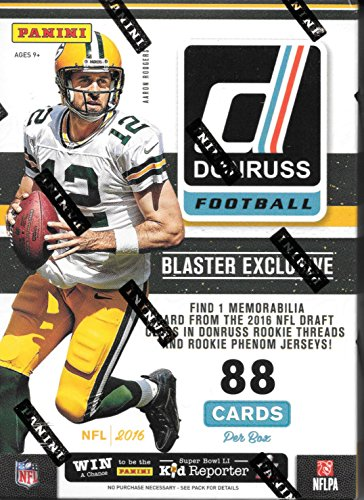 2016 Donruss NFL Football Blaster Box - This Box Contains...