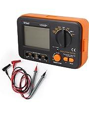 Vichy Vc60b+ Digital Insulation Resistance Megohmmeter Meter Tester Dc250/500/1000v Ac750v New