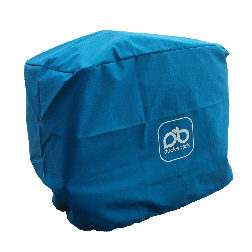 Ducksback waterproof outboard engine cover (size 4) suitable for 45-75 HP Outboard motors RAN-DBB-TOP4-BLU