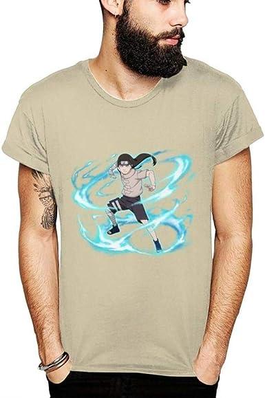 TSHIMEN Camisetas Hombre urbanas Naruto Verano 2019 para ...