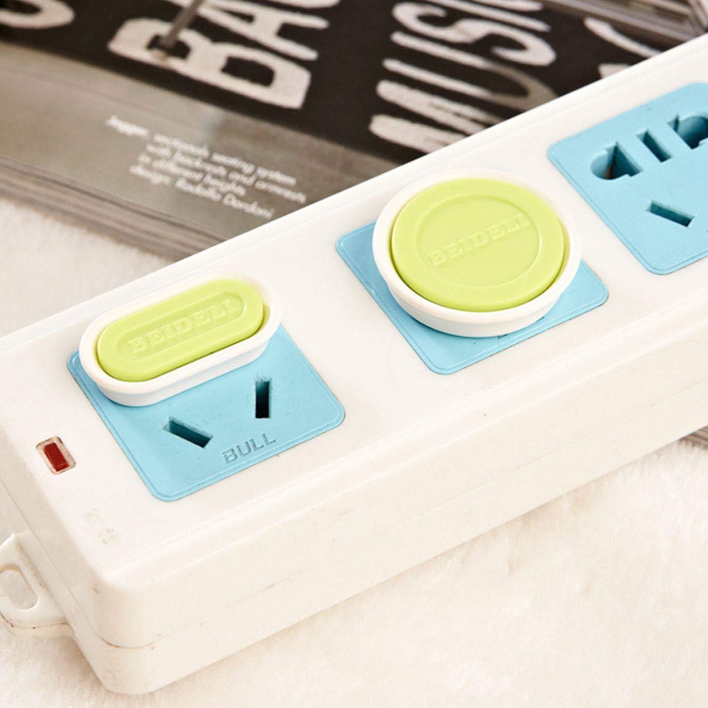 WOVELOT Couvercle de prise de courant Couvercle de securite pour fiche de protection pour bebe enfants Couvercle de prise de sortie de courant en plastique de securite