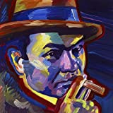 Edward G Robinson by Howie Green Art Print, 12 x 12 inches