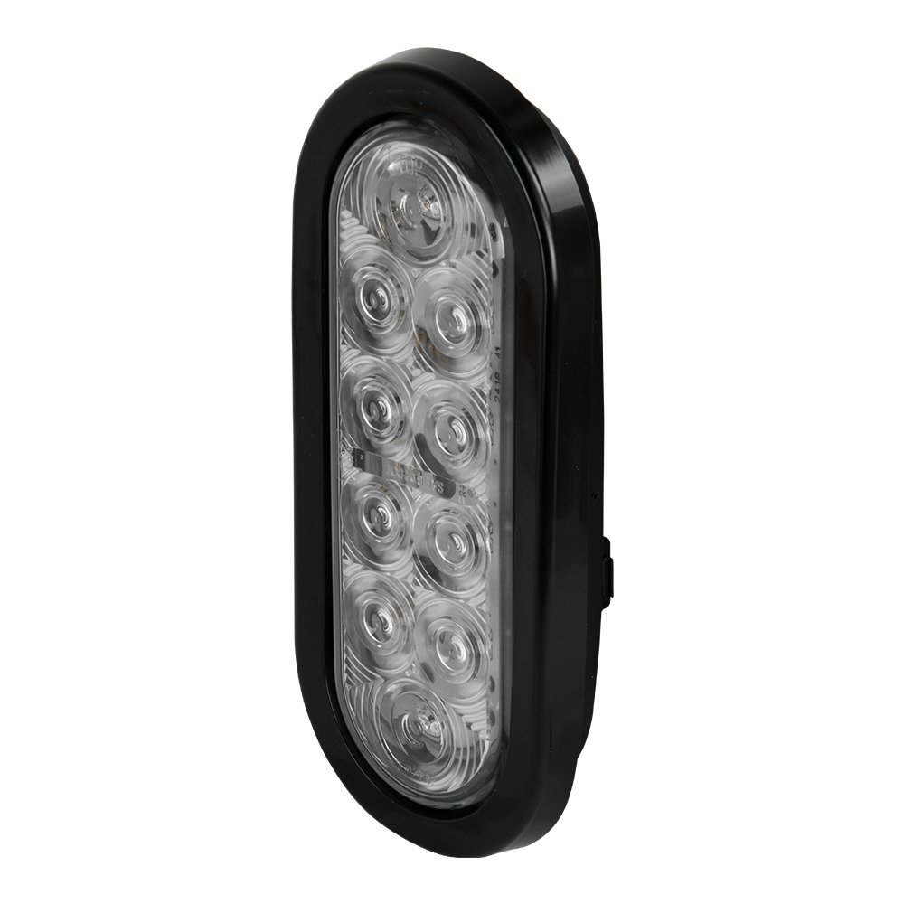 Blazer C562CATM LED 6-Inch Oval Stop//Tail//Turn//Park Amber Light Clear