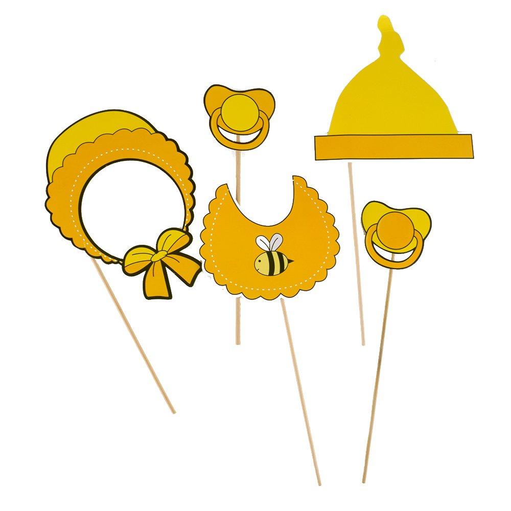 amazon com fengirl baby yellow small bee photo booth props kit on