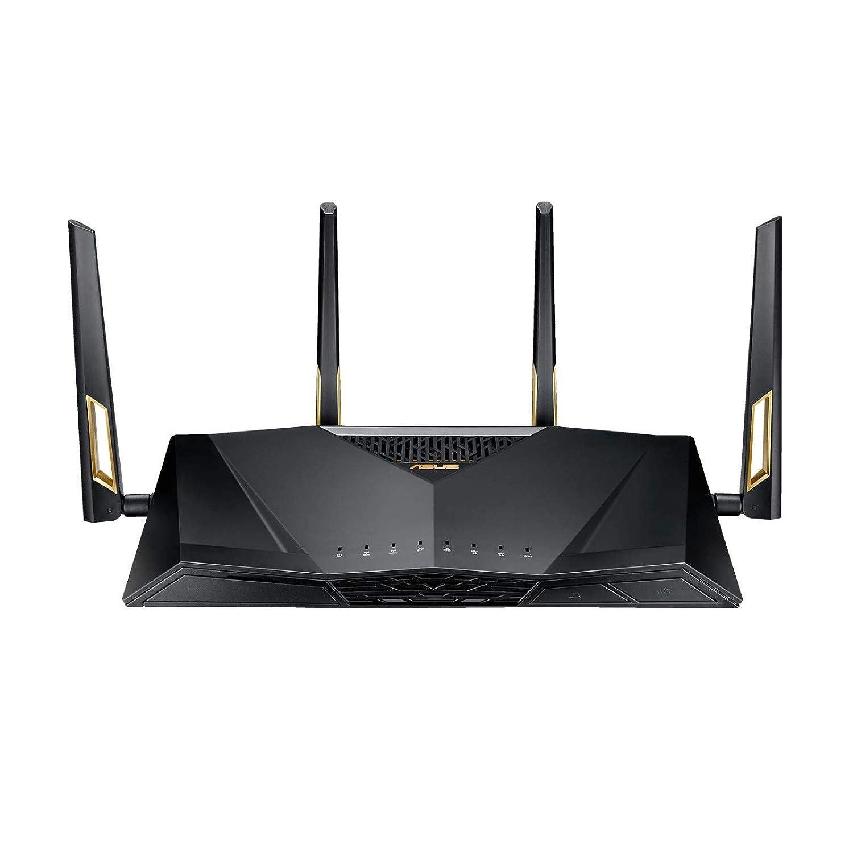 WiFi-5 Dual-Band Asus AiMesh Router Set L bis zu 180 m/² + bis zu 120 m/² Router - F/ür das Reihenhaus oder Wohnung in moderner Bauweise mittelere Gr/ö/ße