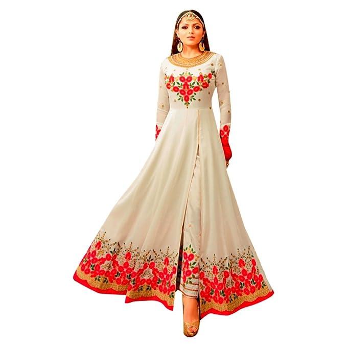 Diseñador Bollywood Madhubala personalizado para medir Anarkali Salwar Traje de fiesta Vestido de la boda de