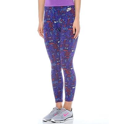 Nike Women's Leg-A-See Printed Women's Cropped Leggings 777558 455
