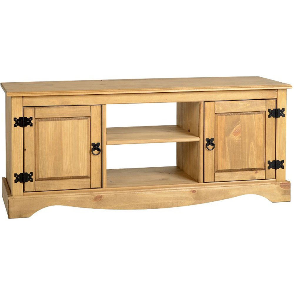 Seconique Corona 2 Door 1 Shelf Flat Screen TV Unit: Amazon.co.uk: Kitchen  U0026 Home