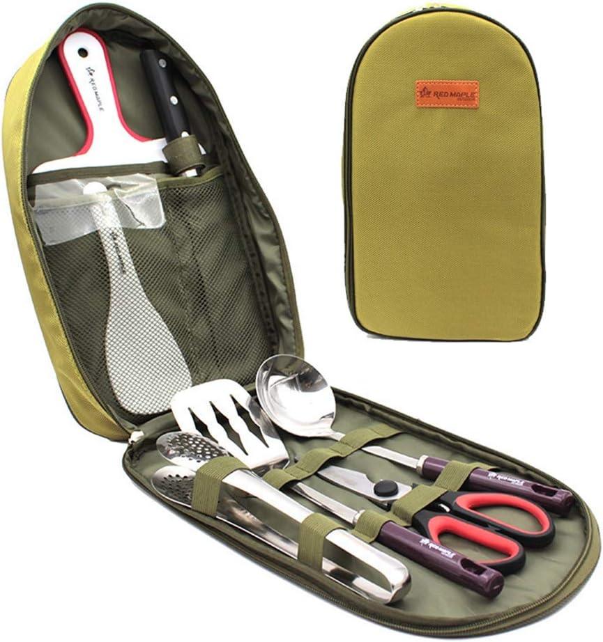 DoMyfit - Juego de utensilios de cocina para camping, portátil ...