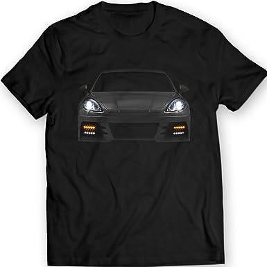 DTG Printing Porsche Panamera Turbo Camiseta 2012 Idea para Hombr: Amazon.es: Ropa y accesorios