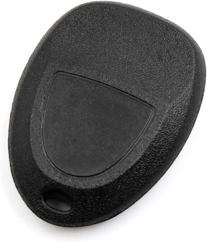 uxcell New 4 Buttons Key Fob Remote Control Case Shell Replacement KOBGT04A for 2006-2011 Chevrolet HHR