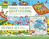 Best Crayola Gifts For Adults - Crayola Family Escapes Group Coloring, 24 Coloring Pages Review