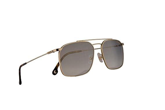 Amazon.com: Carrera 186/S - Gafas de sol doradas y plateadas ...