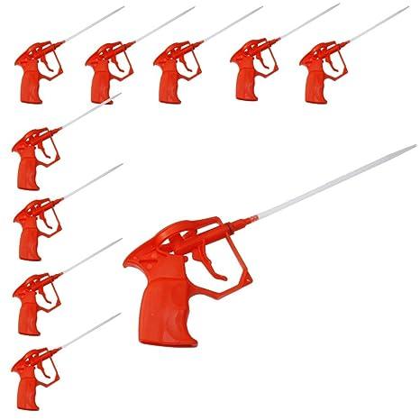 DWT de Alemania 10 x Pistolas de espuma, diseño Espuma Pu Expanding Foam Pistola de calafateo, espuma de poliuretano ...