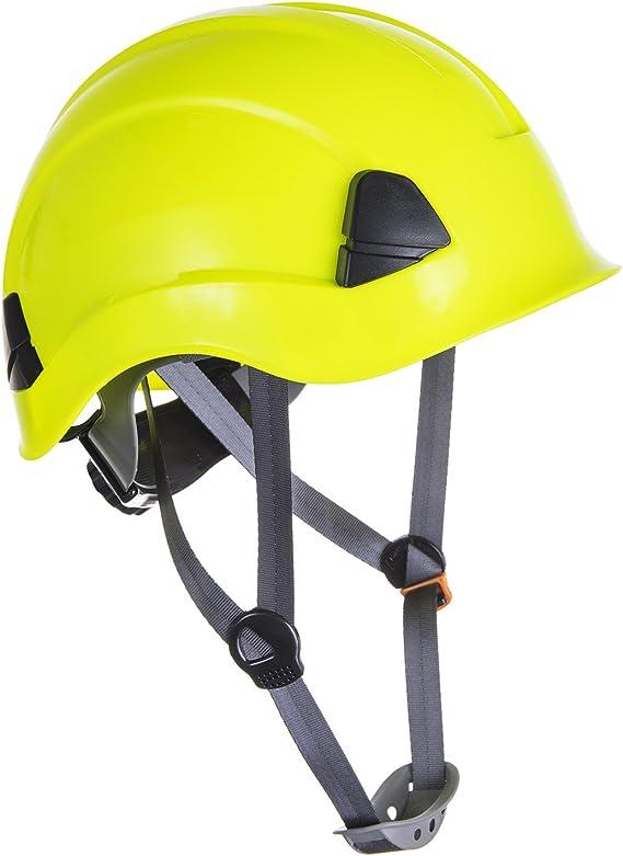 Portwest PS53 - Casco resistente para trabajo en altura,