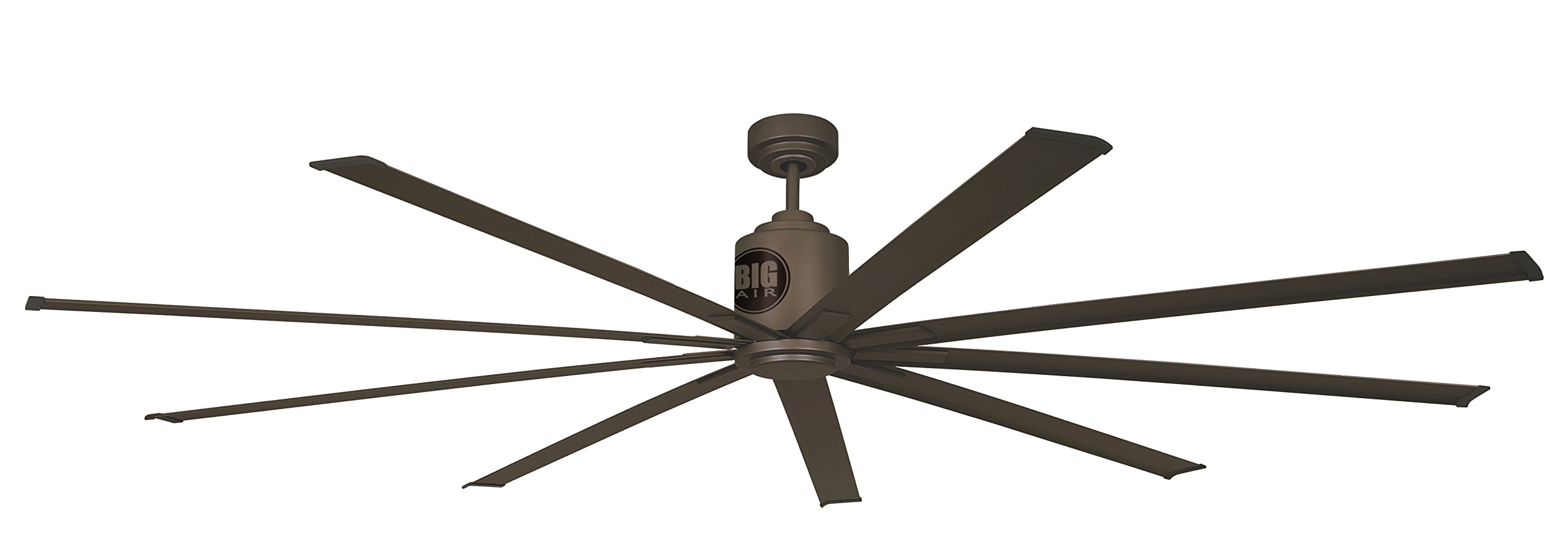 Big Air 96'' Industrial Ceiling Fan, Wet Locations, Bronze