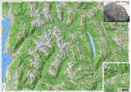 Valle Cochamo Chile Hiking Map. 1:75,000 pdf epub