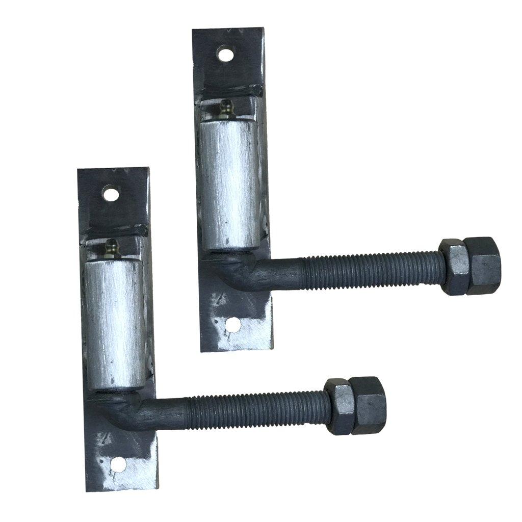 Aluminum J-bolt Hinge 5/8 Adjustable Heavy Duty Gate Hinge