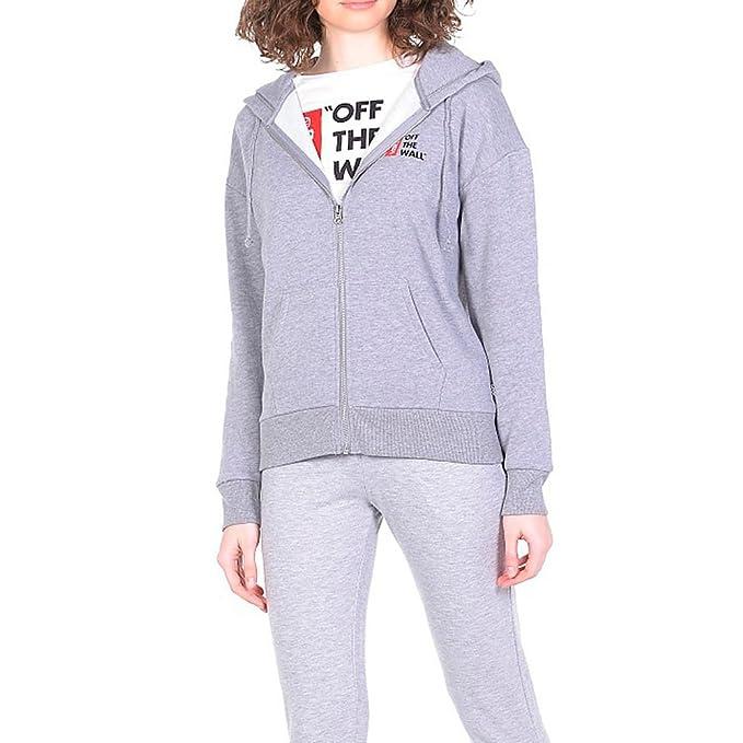 Sudadera capucha Vans – Anthem Zip gris talla: L (Large)