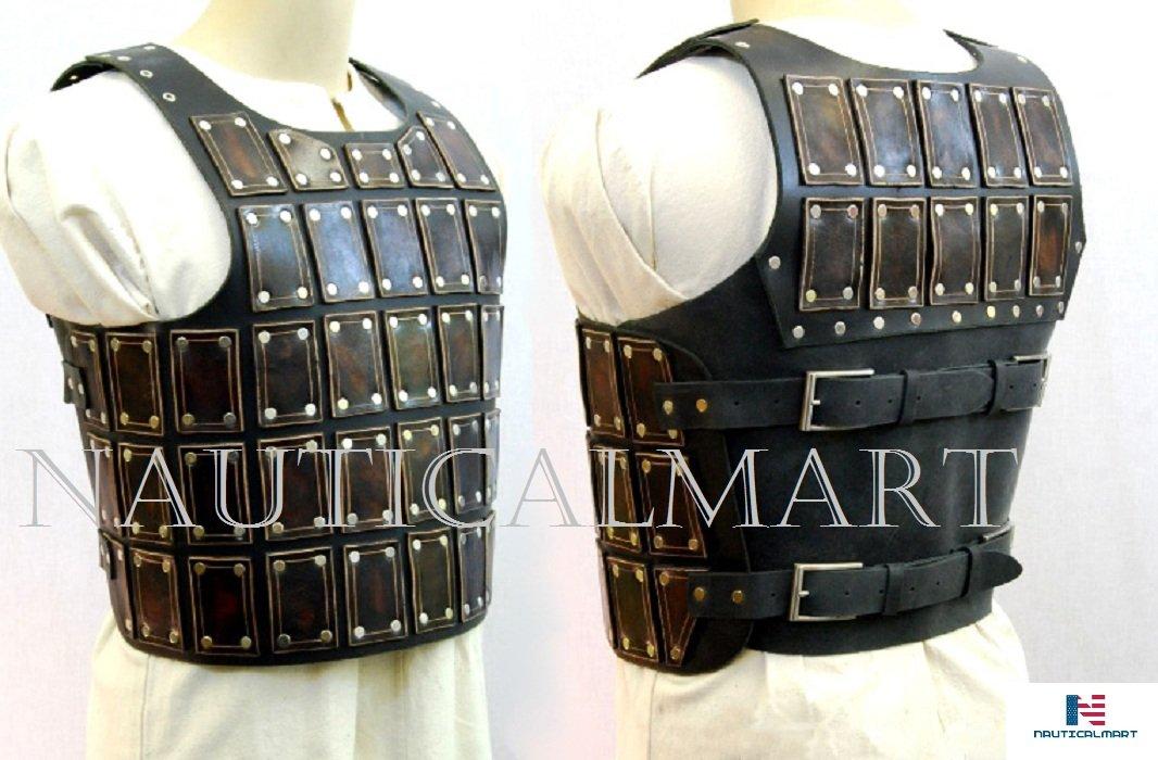 NAUTICALMART Short Brigandine Breastplate Medieval Costume - LARP by NAUTICALMART
