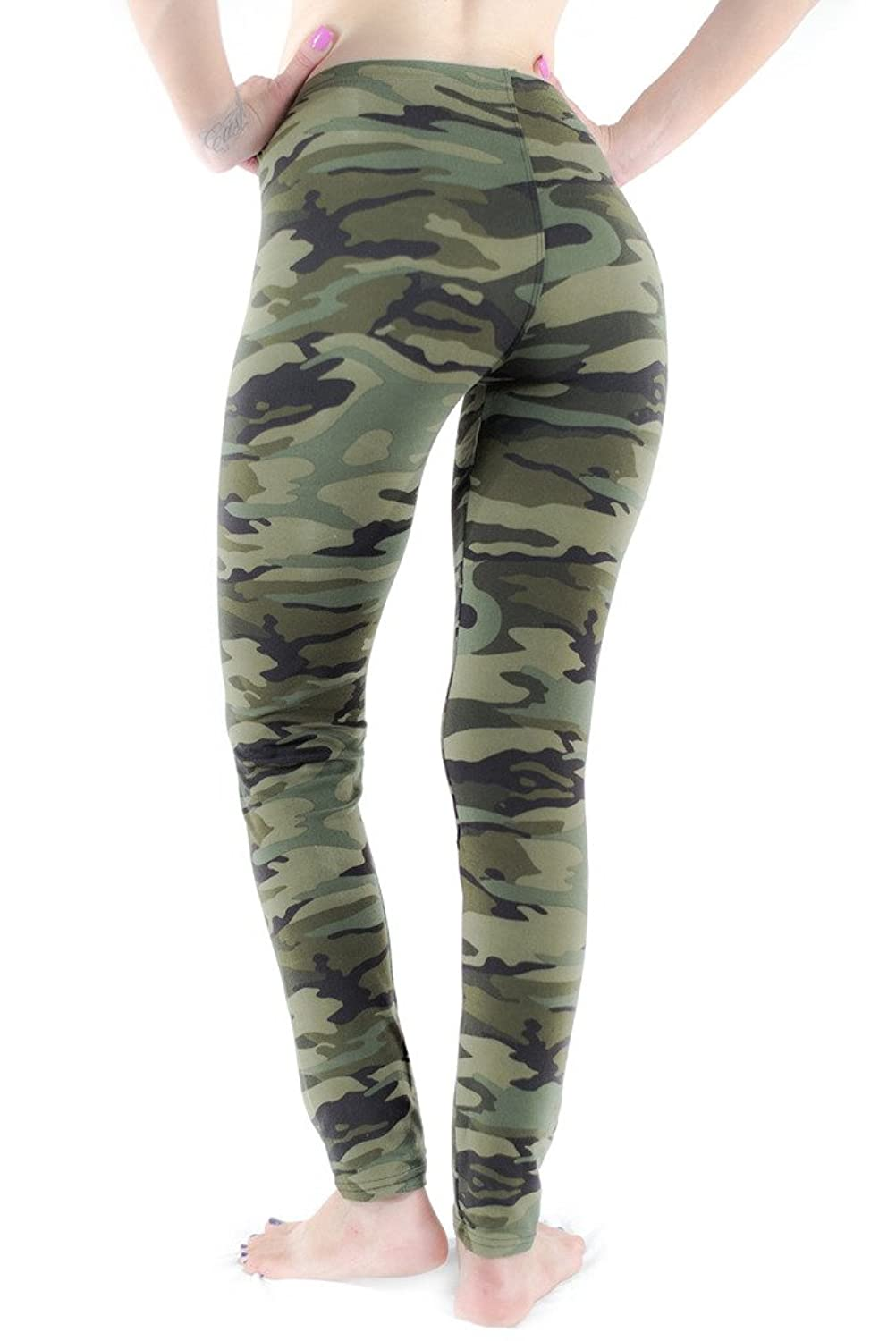 Womens Camo Leggings - Trendy Clothes