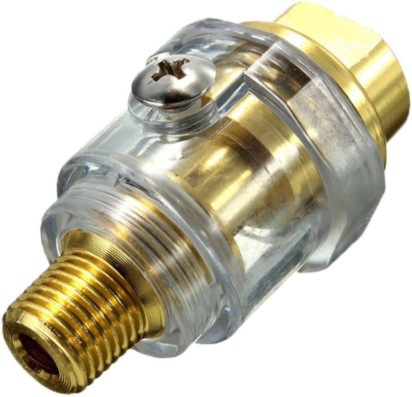 Sharplace Mini Öler Für Druckluft Werkzeug Schlagschrauber Schleifer Druckluftöler Ölnebler Miniöler Nebelöler Baumarkt