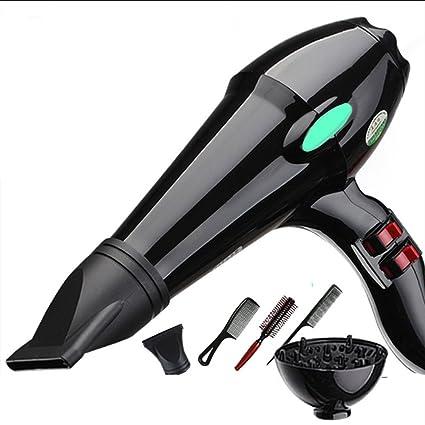 Nclon Rizadores de hierro Secador de pelo Poderoso Casa,3000w Boquillas concentradoras No lastima el
